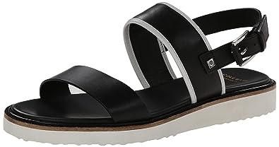 Cole Haan Women's Capri Sandal,Black Leather,10 ...