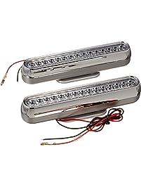 Pilot Automotive NV-2010 White Oblong LED DRL Accent Light, (Set of 2)