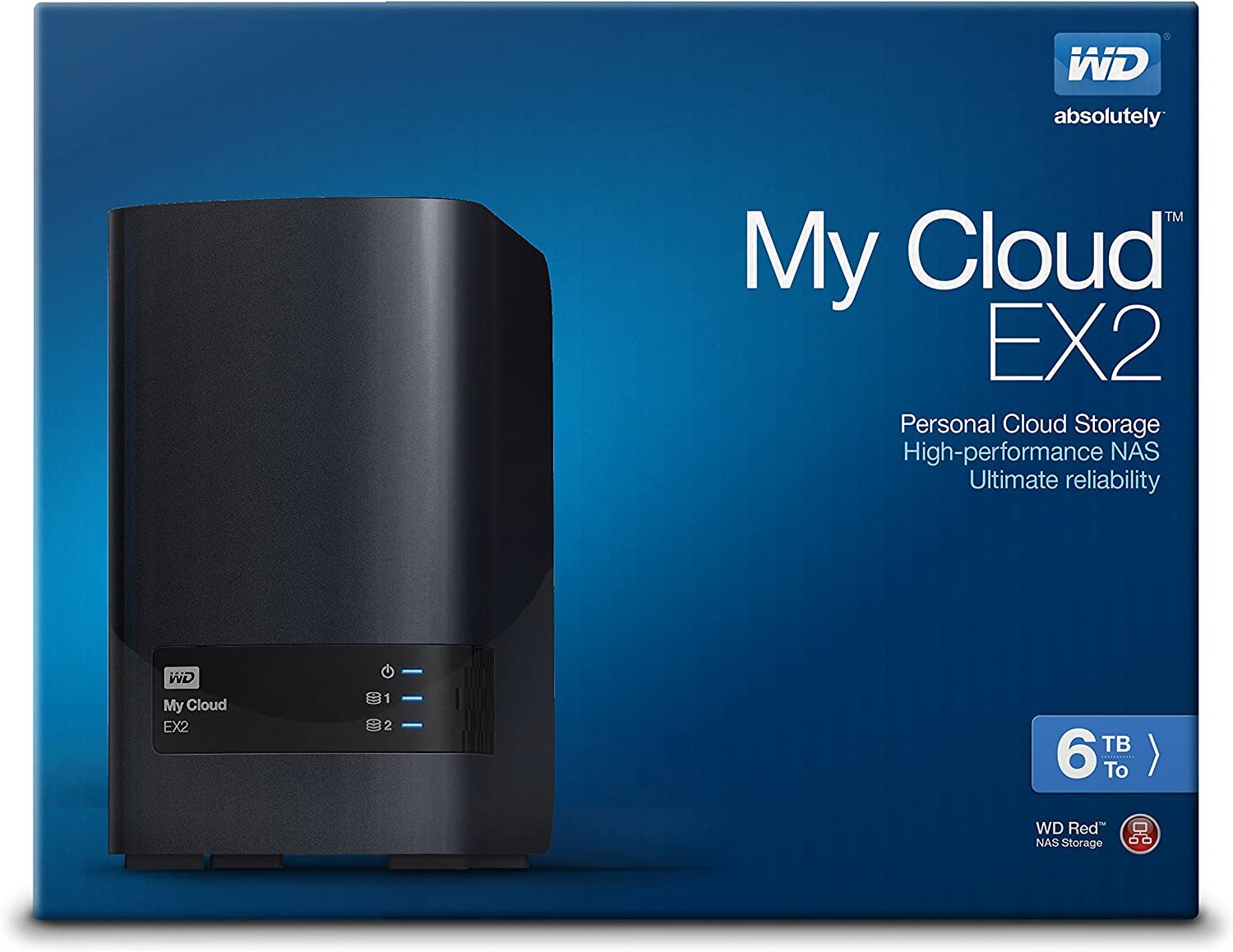 Wd My Cloud Ex2 6 Tb Reliable Network Attached Storage Featuring Wd Red Drives Amazon Ca Computers Tablets
