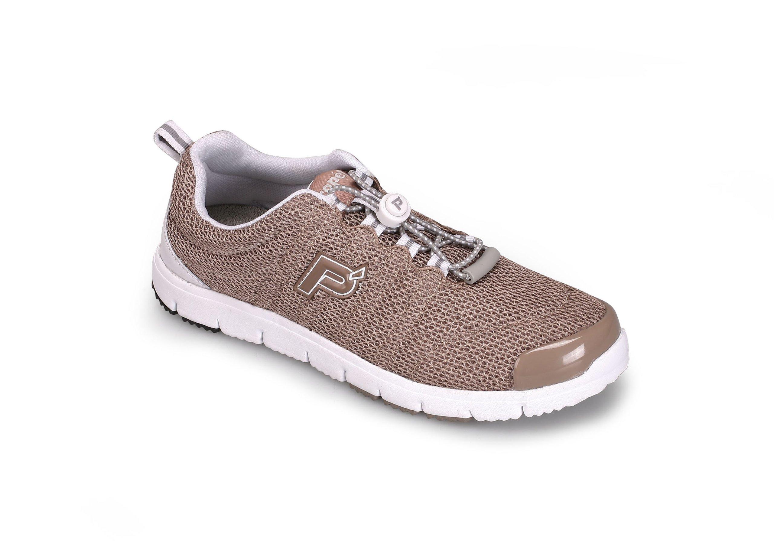 Propet Women's Travelwalker II Shoe,Taupe,8.5 N US
