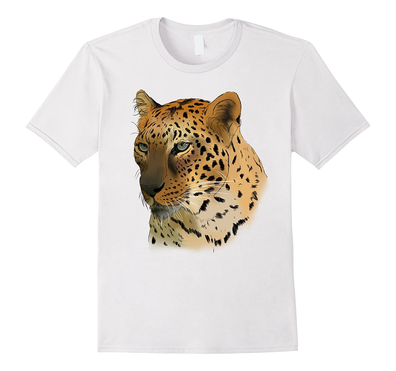 Armany Leopard Tee Shirt-AZP