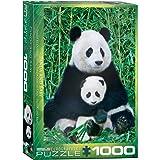 EuroGraphics Panda et Ourson - Puzzle de 1000 Pièces