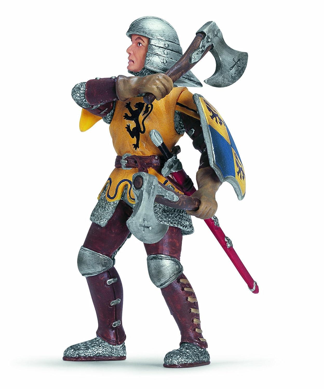 Schleich 70062 Ritter Fu/ßsoldat mit Wurfbeilen