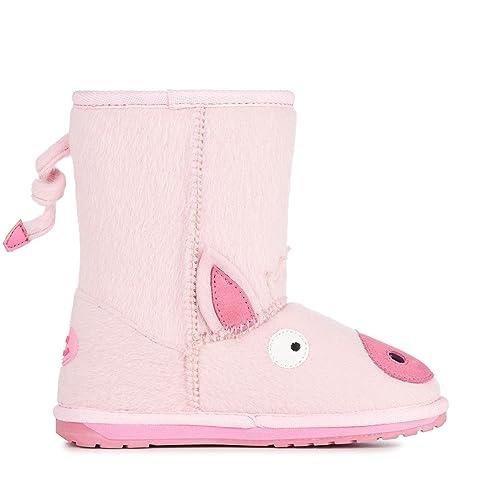 ba134ef621b2b9 EMU Australia Kids Piggy Deluxe Wool Boots Size 8 Pale Pink