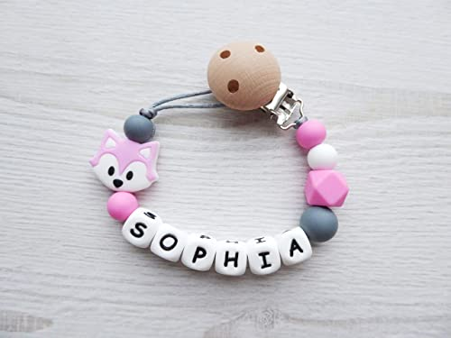 Personalised Dummy Chain Clip