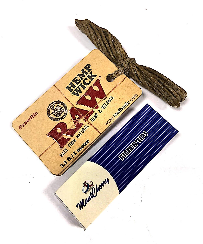 Paquete de puntas MontCherry Exclusivo y mecha de cáñamo RAW – 1 ...