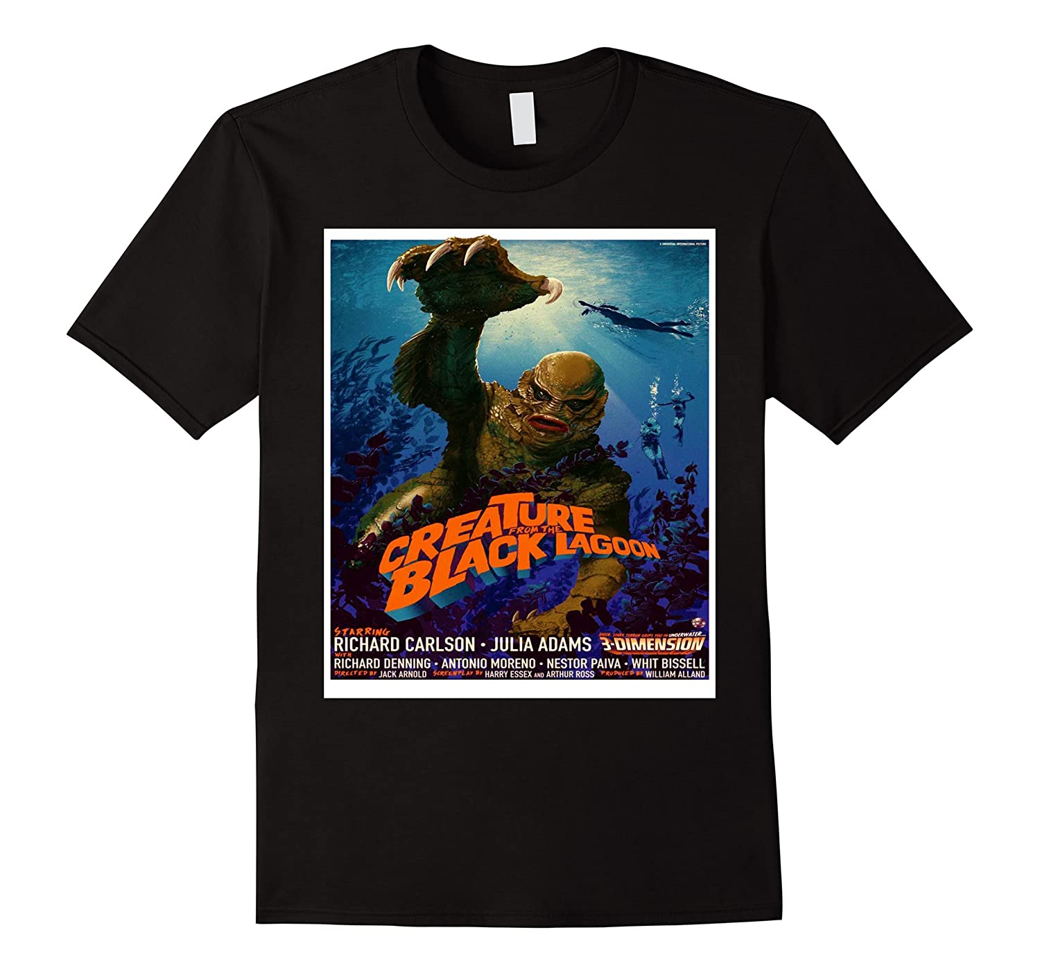 Vintage Monster Movie Classic Horror Movie Shirt-FL