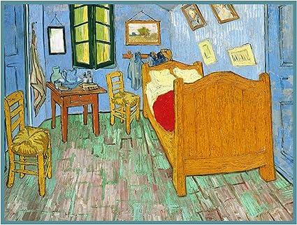 La Habitación Por De Punto De Cruz Diseño De Patrón De Vincent Van Gogh Arte Manualidades Y Costura