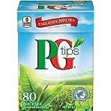 PG Tips Premium Black Tea, Pyramid Bags, 80 ct