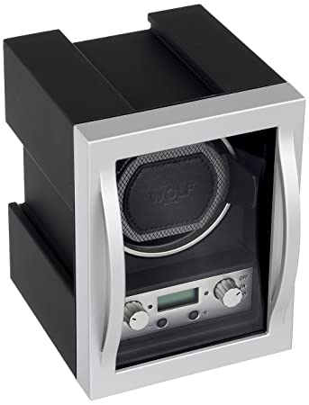 c4634640f26 Amazon.com  WOLF 454011 Module 4.1 Watch Winder with Cover