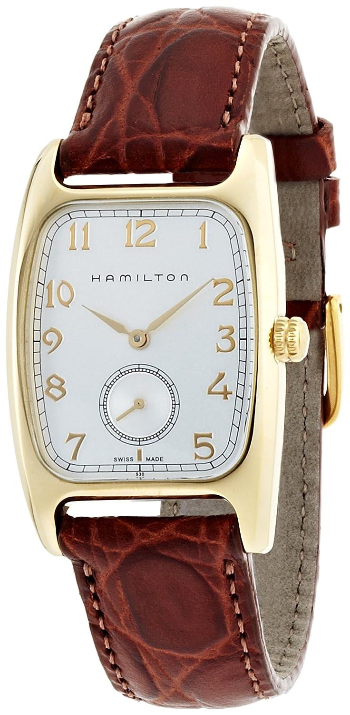 730da5b1cb8 Amazon.com  Hamilton Men s H13431553 Boulton Silver Dial Watch  Hamilton   Watches
