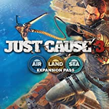 Just Cause 3 - Land, Sea, Air Expansion Pass  - PS4 [Digital Code]