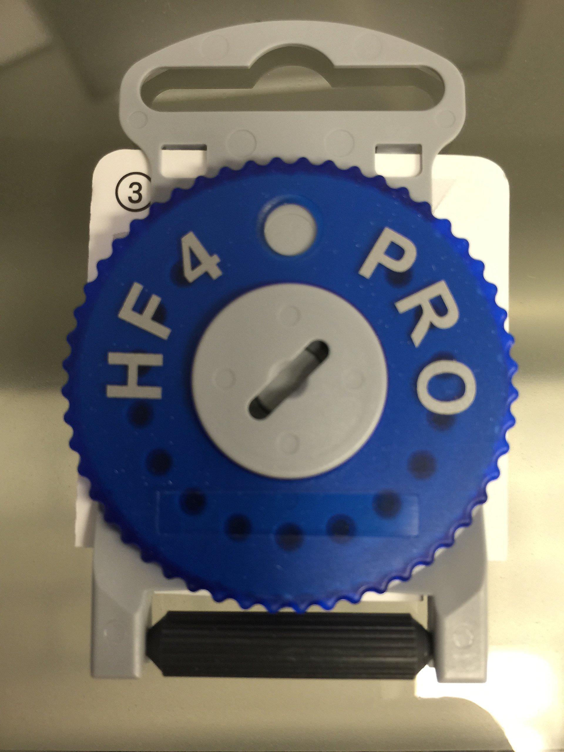 Siemens HF4 PRO Wax Filter, Blue for Left Ear