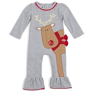 0102ab837 Amazon.com  Mud Pie Reindeer One-Piece (9-12 months)  Baby