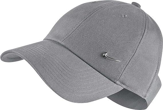 Amazon.com  Nike Womens Sportswear Open Back Visor Hat (Atmosphere ... d9b52f2c594