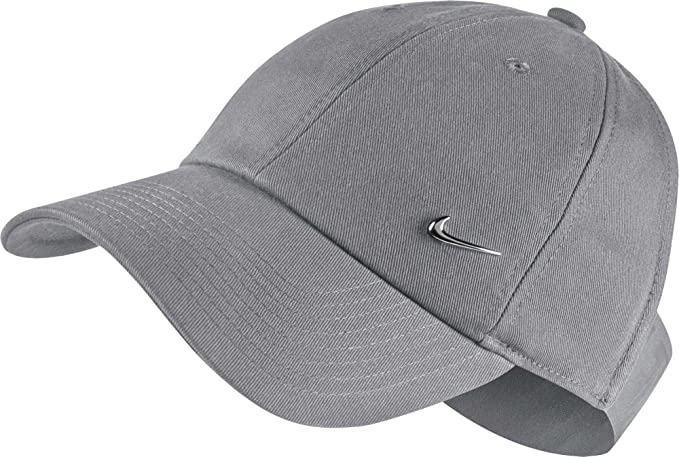 c5b30a654c4 Amazon.com  Nike Womens Sportswear Open Back Visor Hat (Atmosphere Grey