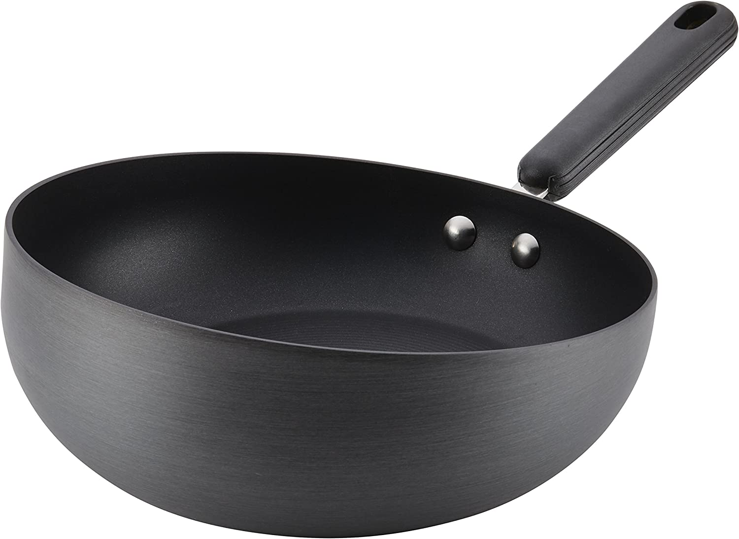 Circulon 83849 Classic Hard Anodized Nonstick Frying Pan / Fry Pan / Hard Anodized Skillet - 10.5 Inch, Gray