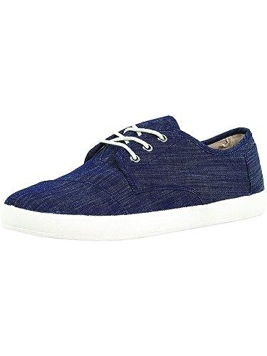 6634b67e9eb TOMS Light Blue Chambray Men s Paseos  Amazon.co.uk  Shoes   Bags