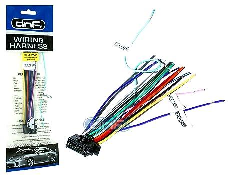 81fWQIfxz L._SX463_ amazon com dnf new pioneer wiring harness avh 170 dvd sm deh 100