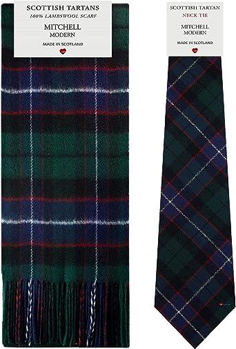 Scottish Wool Clan Scarves New Long Neck Fashion Smith Modern Tartan Scarf