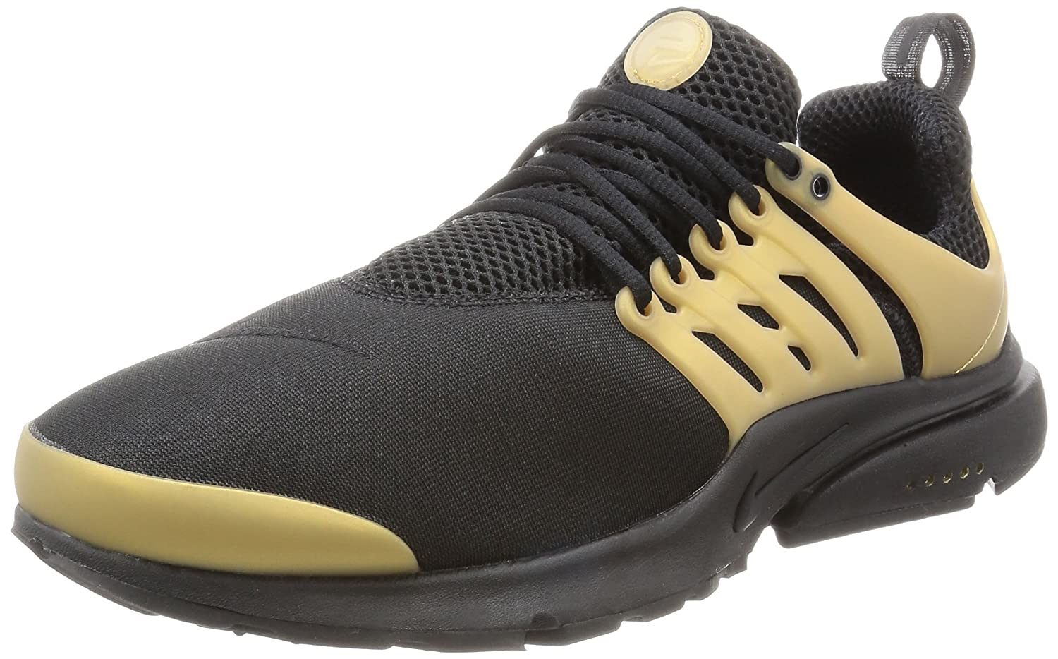 NIKE Men's Air Presto Essential B000G41GC6 8 D(M) US|Black/Black-metallic Gold