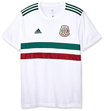 c96ea392 adidas 2018-2019 Mexico Away Football Shirt