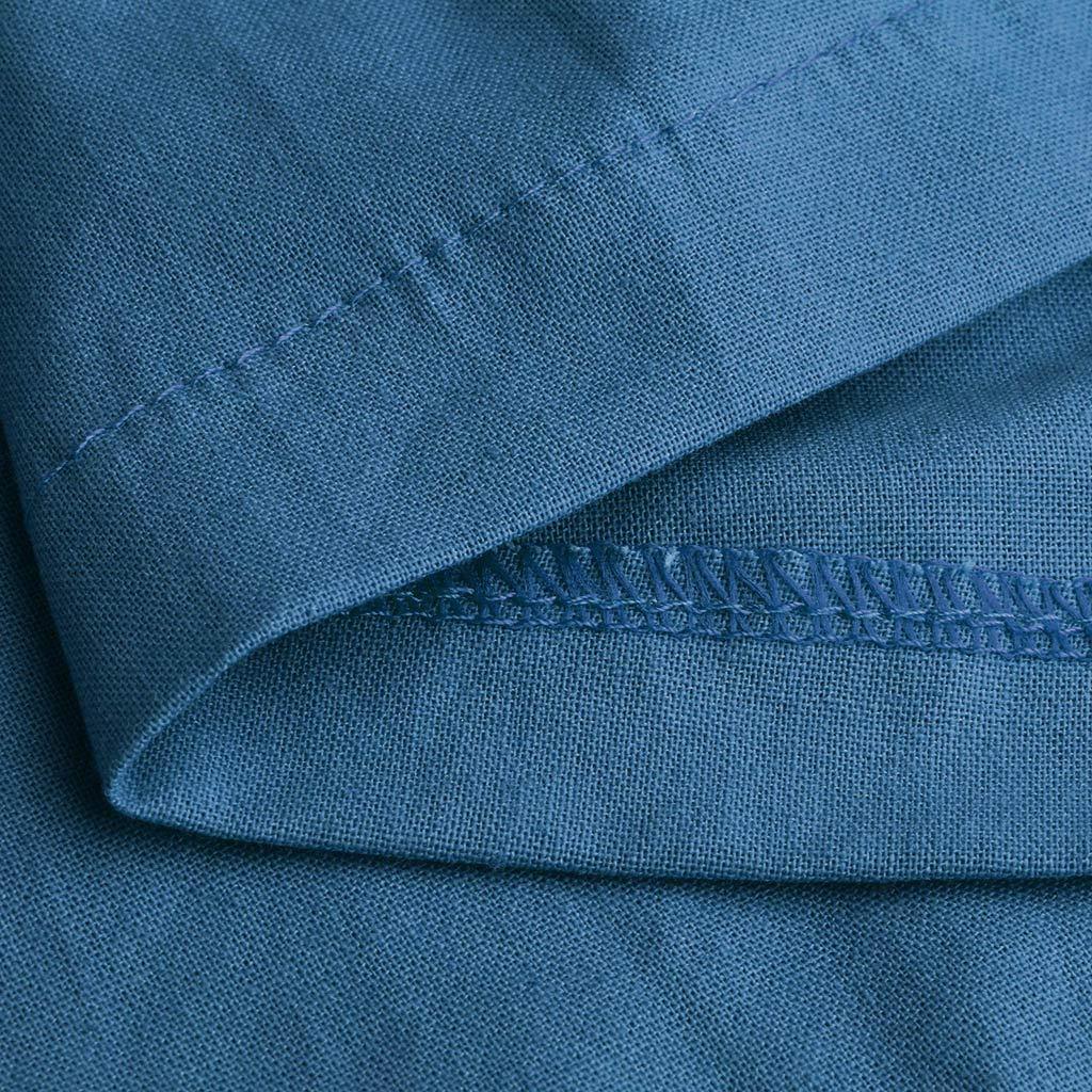SCHOLIEBEN Pantaloni Donna Estivi Eleganti Vita Alta Taglie Forti Skinny Casual Moda Solid Basic Pieghe in Cotone E Lino Larghi al Polpaccio Vintage Leggings