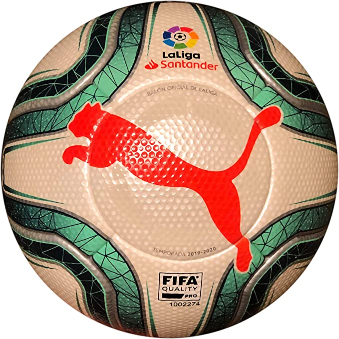 PUMA La liga Santander 2019/20 Official Match Ball White Green ...