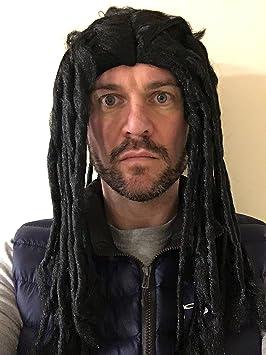 rastas Peluca Reggae Marley Rastas disfraz pelucas fiesta