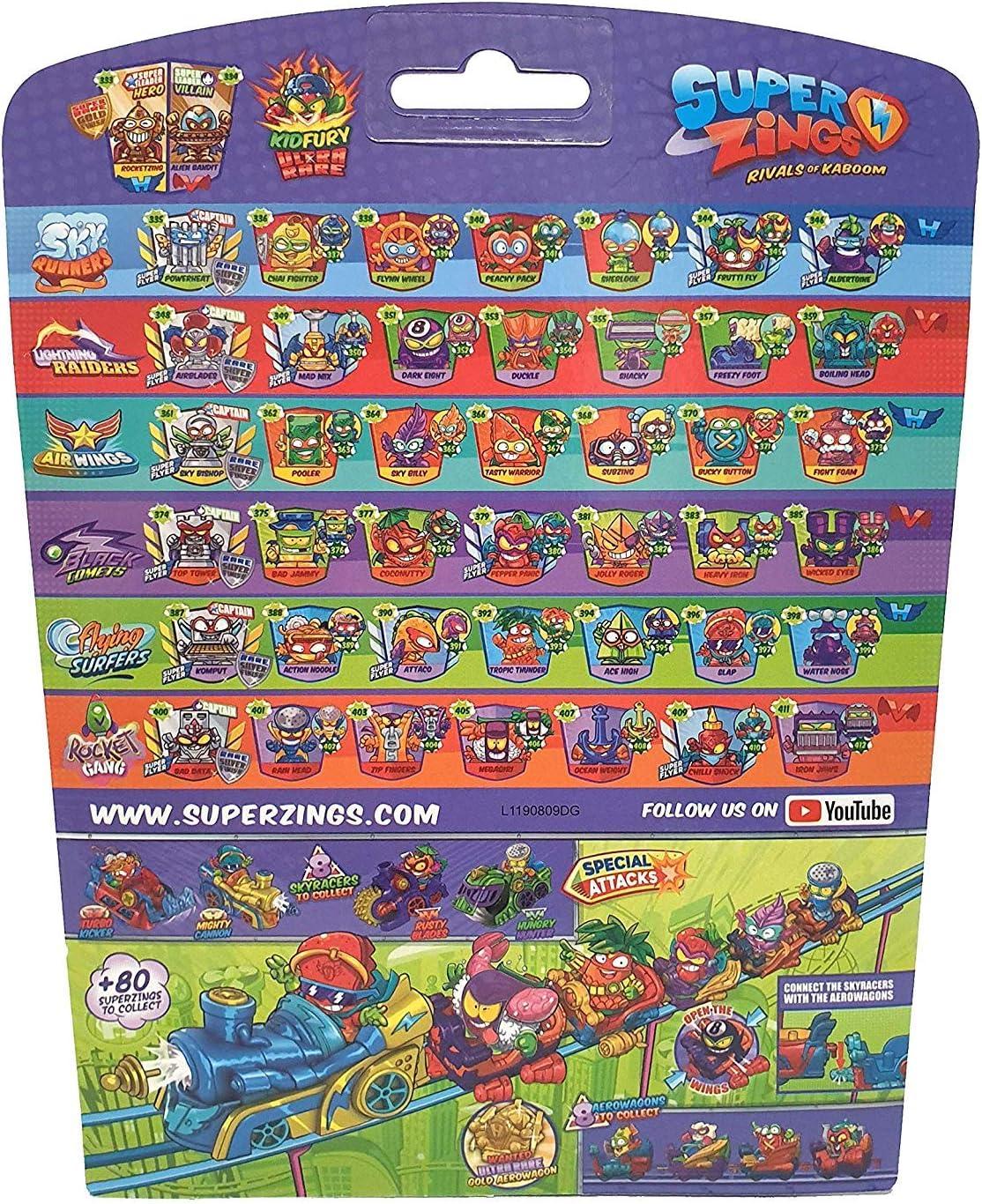 SuperZings Serie 5 - (Blister 10): Amazon.es: Juguetes y juegos