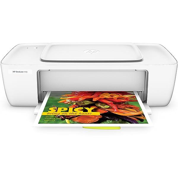HP DeskJet 1110 - Impresora de tinta - B/N 20 PPM, color 16 ...