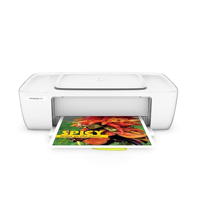 HP DeskJet 1110 - Impresora de tinta - B/N 20 PPM, color 16 PPM