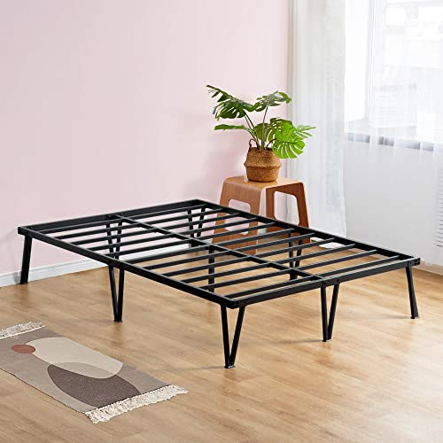 Sleeplace 14 Inch Platform Steel Bed Frame Full