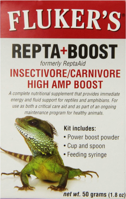Fluker's Repta+Boost Insectivore & Carnivore High Amp Boost