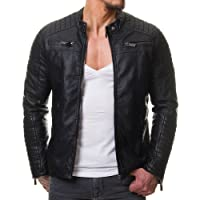 Prime Men's Polyurethan Leather Jacket C1