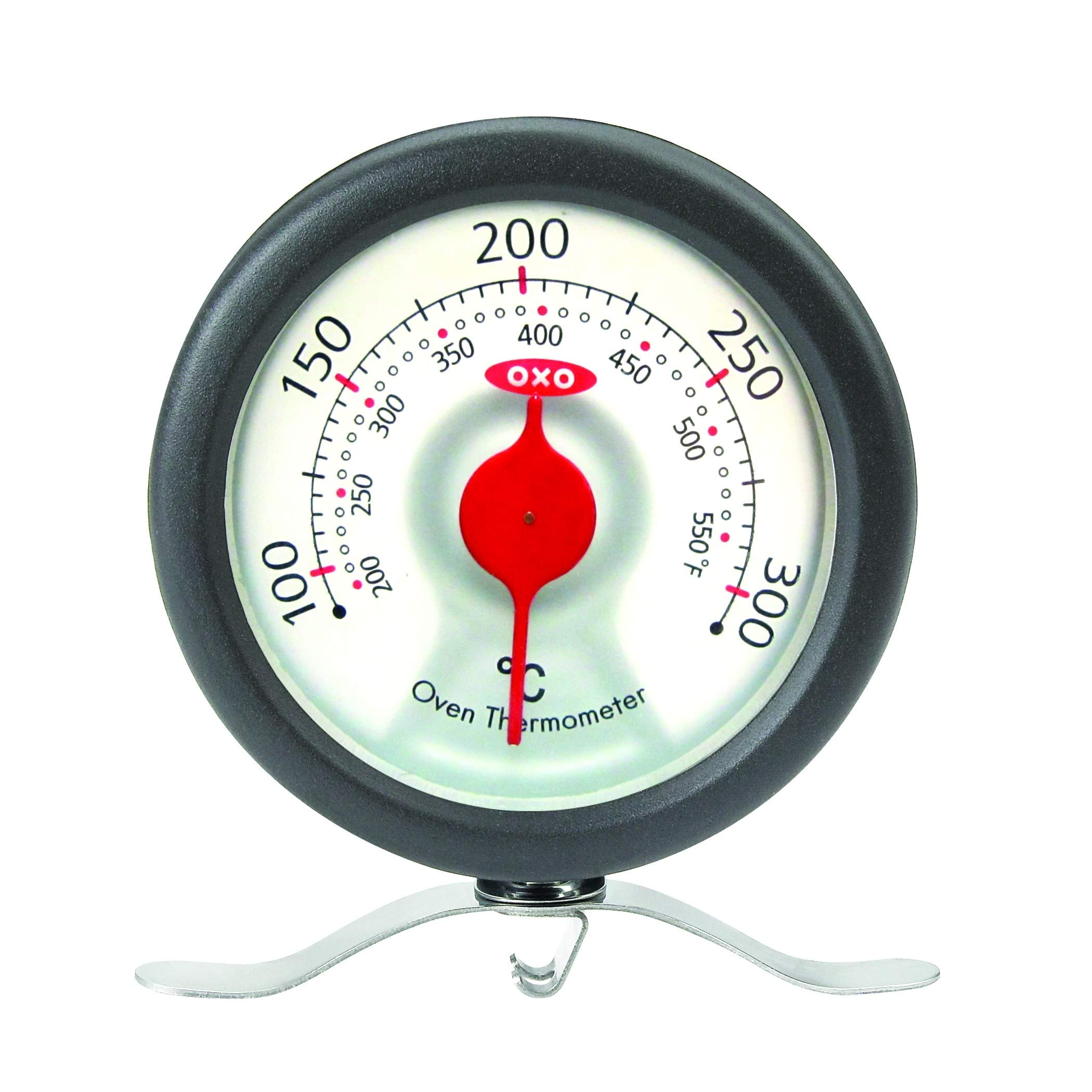 OXO Good Grips Quality Oven Thermometer - Hang Up or Stand Up Inside Cooker