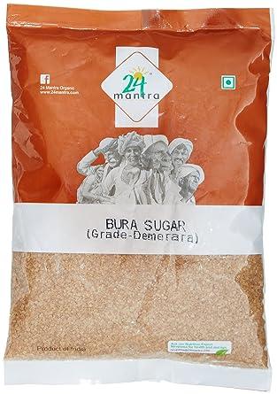 24 Mantra Organic Products Demmera Sugar, 500g White Sugar at amazon