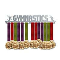 Gymnastics Medal Hanger Display   Sports Medal Hangers   Stainless Steel Medal Display   by VictoryHangers - The Best Gift For Champions !