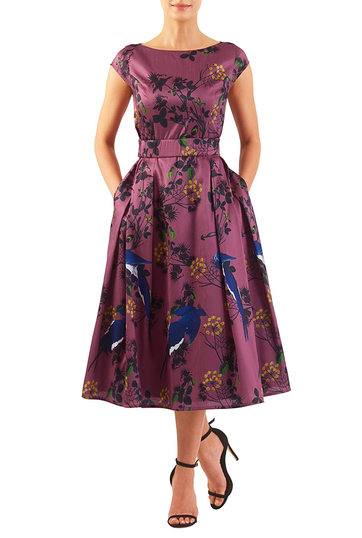 1950s Plus Size Dresses, Clothing | Pinup Fashion  Quincy dress $77.95 AT vintagedancer.com