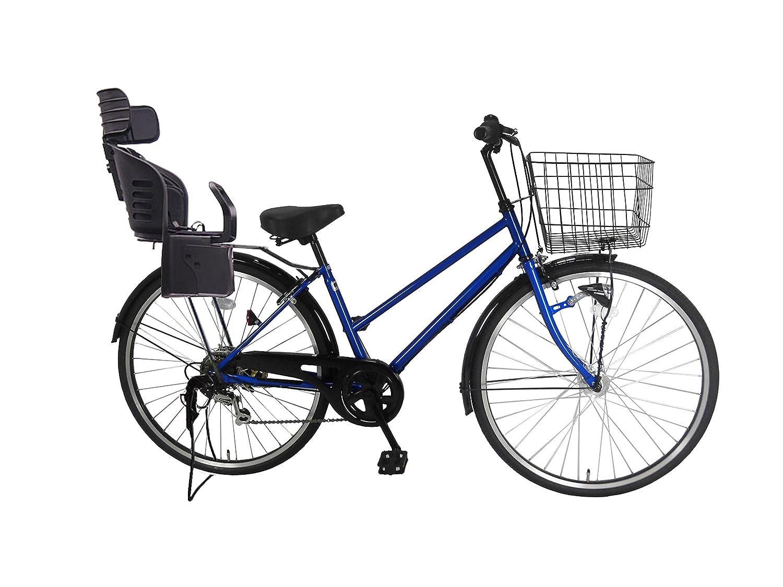 【待望★】 Lupinusルピナス B0797NF219 自転車 26インチ 26インチ ブルー LP-266TA-knrj-bk シティサイクル シマノ製外装6段ギア オートライト 樹脂製後子乗せブラック ブルー B0797NF219, SAS:3b6155b0 --- greaterbayx.co