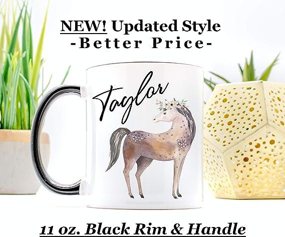 Horse Mug Personalized Gift For Women Custom Coffee Mug Horse Gift For Daughter
