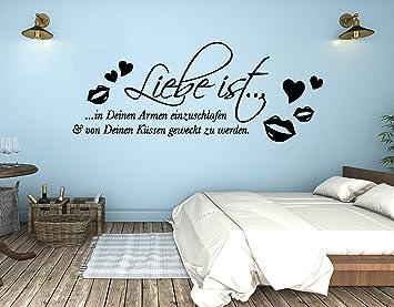 tjapalo® s-pkm287 Wandtattoo Schlafzimmer romantisch modern ...