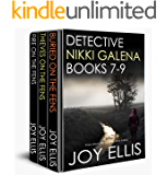 DETECTIVE NIKKI GALENA BOOKS 7-9 three absolutely gripping crime thrillers