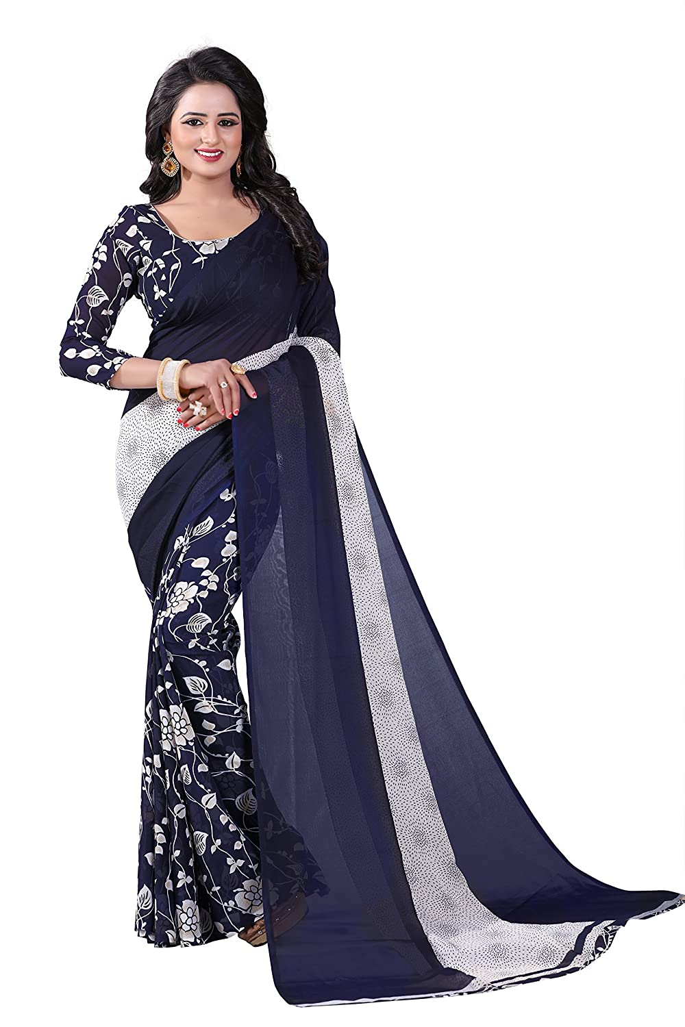551070e808 Saree For Women Party Wear Half Sarees Offer Designer Below 500 Rupees  Latest Design Under 300 Combo Art Silk New Collection 2018-2019 In Latest  With ...