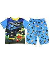Lego Batman Movie Little & Big Boys Poly Pajama Set