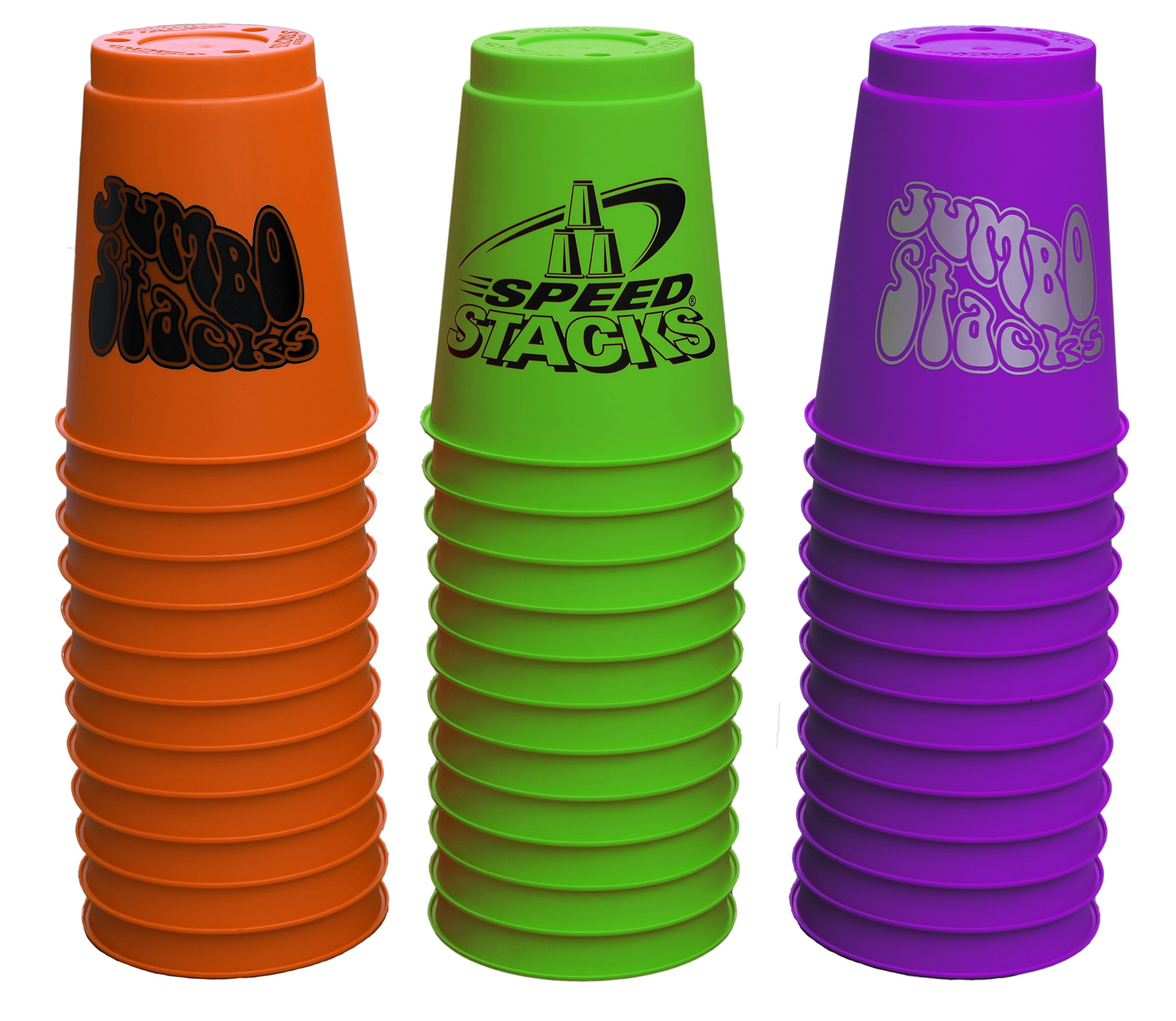 SPEED STACKS Jumbos (3 set pack) by Speed Stacks