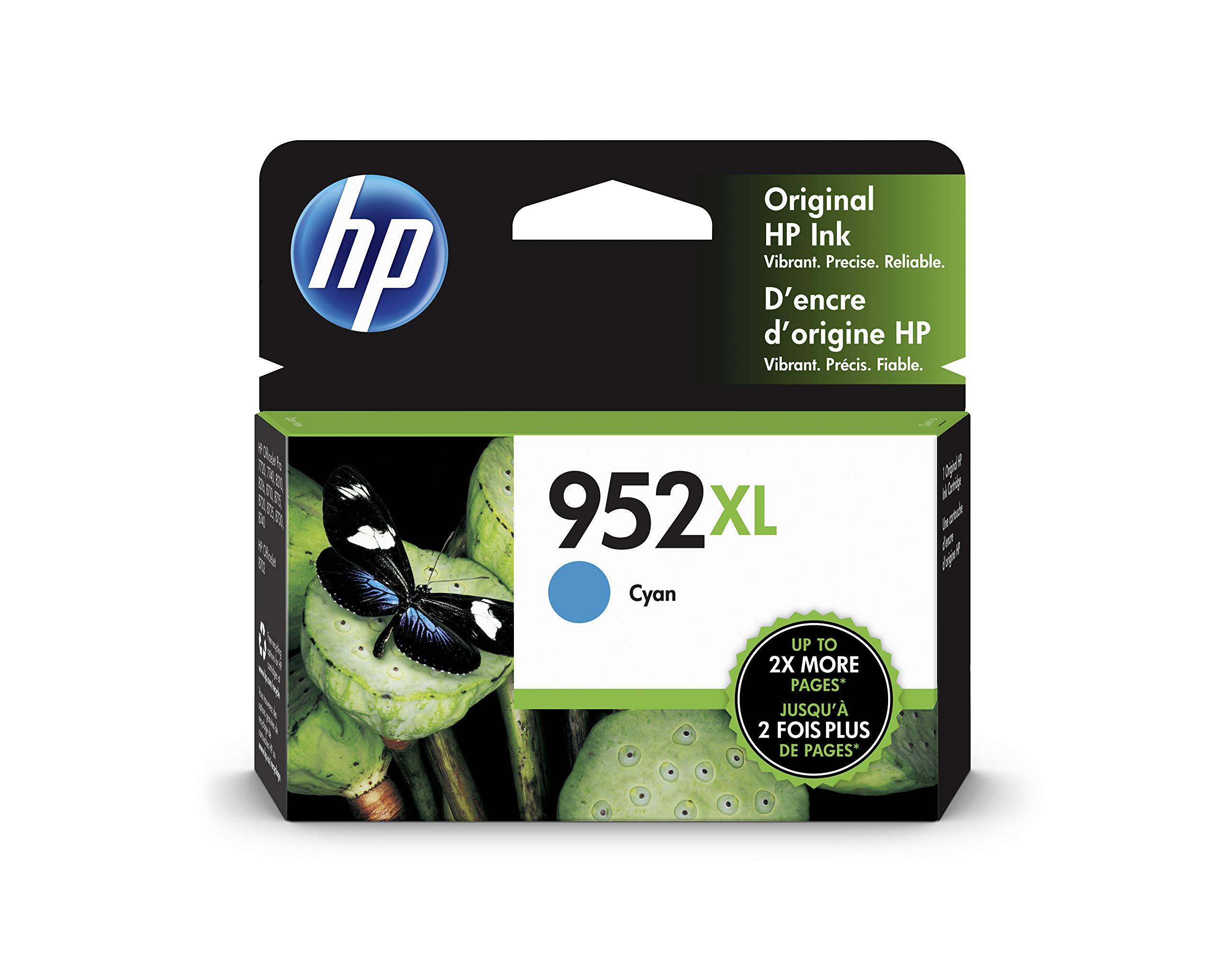 HP 952XL   Ink Cartridge   Cyan   L0S61AN by HP
