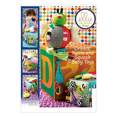 Kwik Sew K0137 Ellie Mae Designs Baby Toys Sewing Pattern, Multi ...