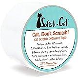 "Sofisti-Cat Scratch Deterrent Tape - Clear Double-Sided Cat Anti Scratch Training Tape (2.5"" x15 Yard roll)"