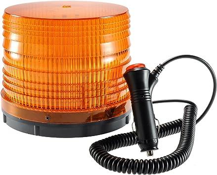 Magnetic Mount Warning Flashing Strobe Emergency Vehicle Rotary Beacon Light